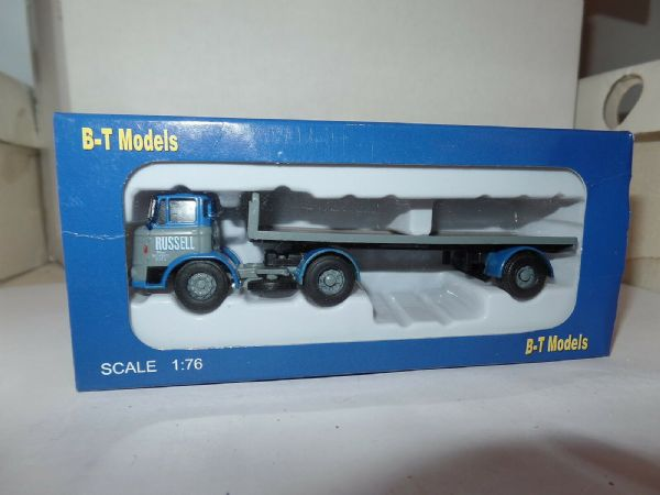 B T Models DA-32 DA32 Leyland Mastiff Artic Flatbed Russell of Bath